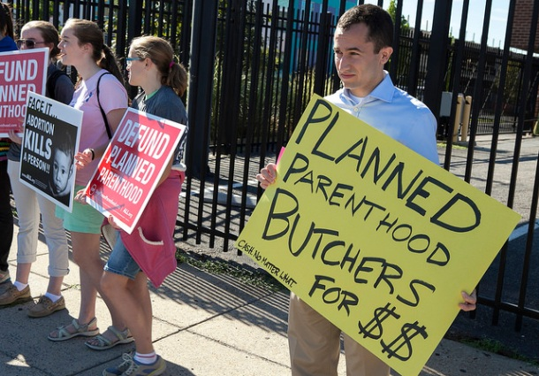 American Life League Protest Planned Parenthod | Flickr Creative Commons